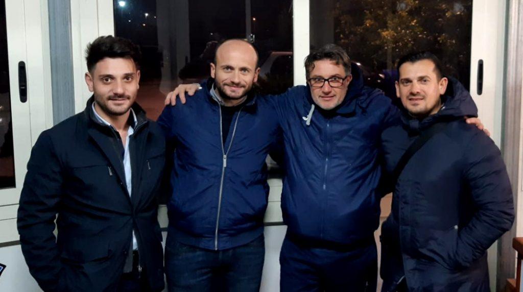 Ciro Barretta con la governance del Città di Acerra