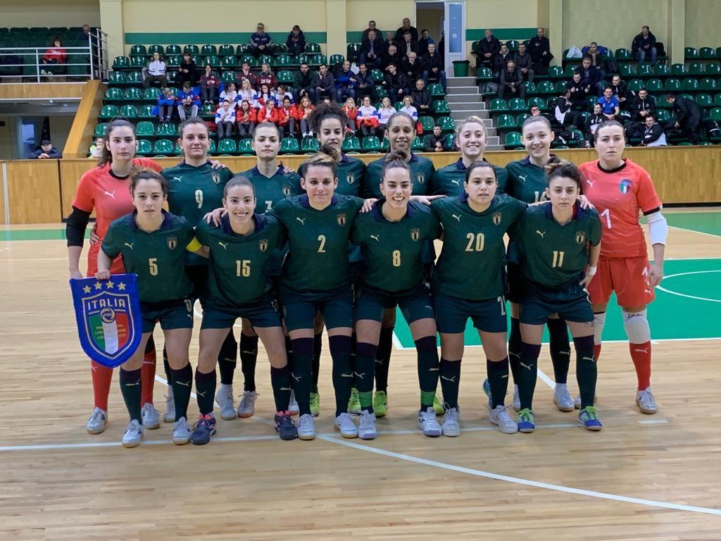 La Nazionale italiana femminile