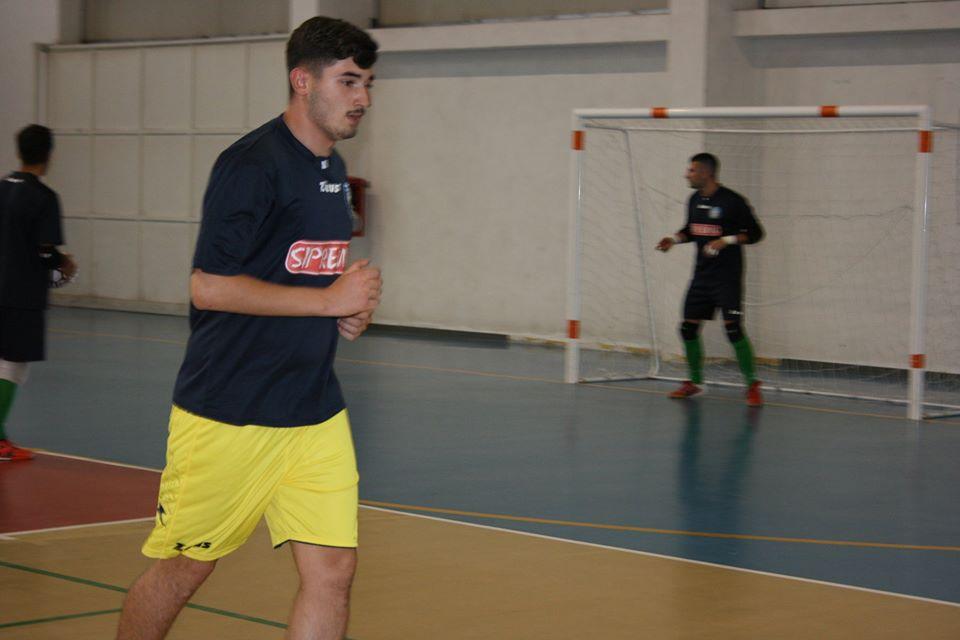 Luca Ettorre con la maglia della Sipremix Limatola