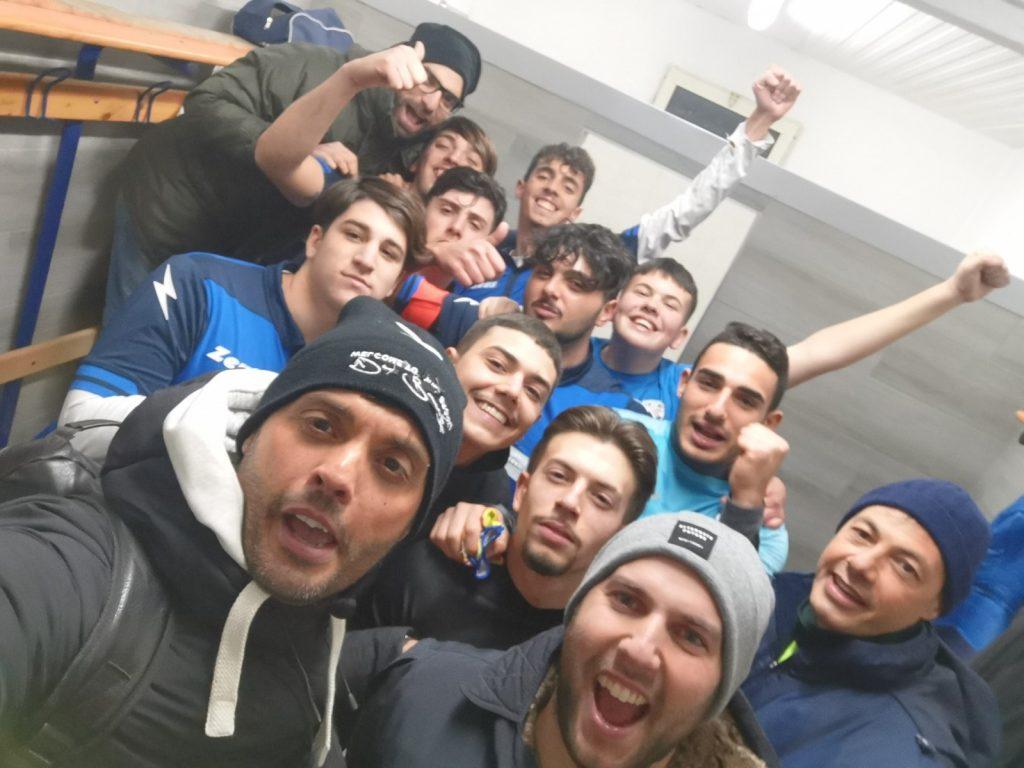 I ragazzi dell'U21 del Pozzuoli Flegrea