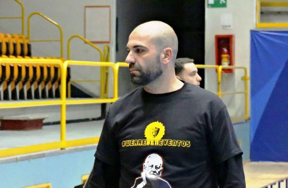 Pellegrino Di Fede, allenatore dell'Under 19 del Benevento 5