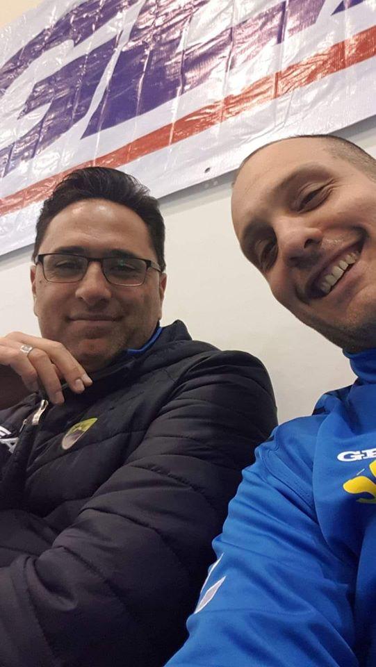 Pietro Antelmi con Salvatore La Marca