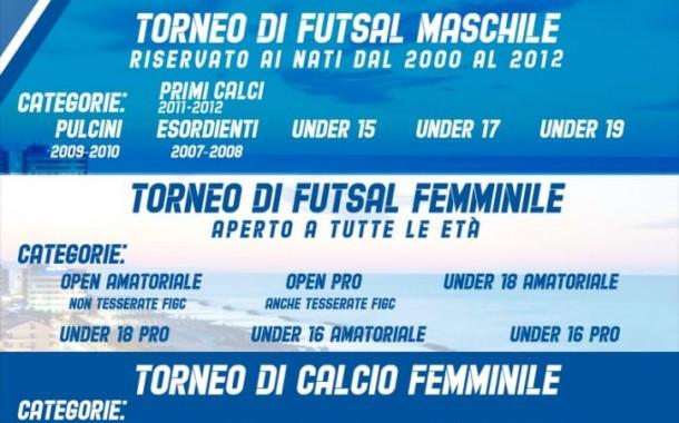 Italia Youth League, dal 5 al 7 giugno a Montesilvano. Tutte le info per iscriversi