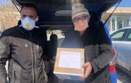 Agostino Lettieri, donate 300 mascherine all'ospedale Landolfi di Solofra