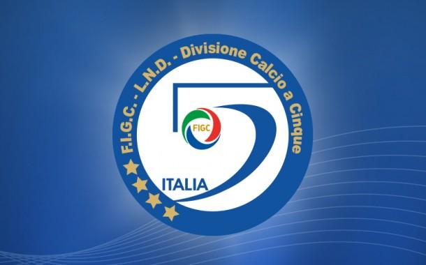 Divisione calcio a 5, confermate le 3 retrocessioni in A, 8 in A2 e B