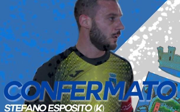 Lo Junior Domitia riparte dal suo capitano, rinnova Esposito