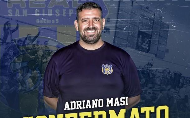 """Real San Giuseppe, prolungata la collaborazione con Masi. Il ds: """"Questo club rispecchia l'animo vincente del presidente Massa"""""""