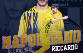 """Real San Giuseppe, rinnova anche il giovane Napolitano: """"Felicissimo di restare"""""""