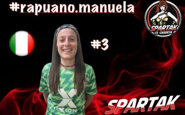 Spartak Caserta, botto di mercato: ecco Manuela Rapuano!
