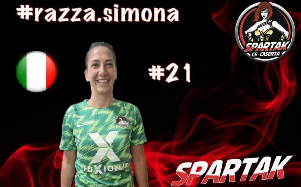 """Spartak Caserta, che colpo! Presa Simona Razza: """"Nuova esperienza, nuovi stimoli"""""""