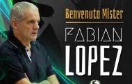 Sandro Abate, Fabian Lopez nuovo tecnico: la nota ufficiale