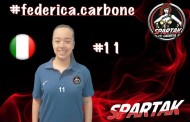 """Spartak Caserta, riconfermata la giovanissima Carbone: """"Qui crescerò tantissimo"""""""