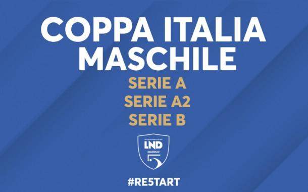 Coppa Italia maschile: modalità e date per Serie A, A2 e Serie B