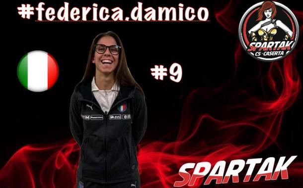 """Spartak Caserta, ingaggiata Federica D'Amico: """"Impressionata dal progetto"""""""