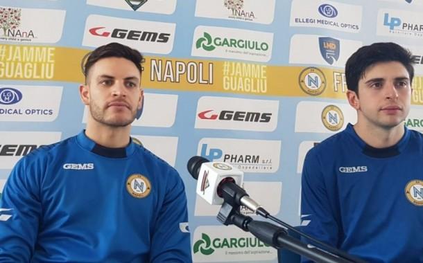 """Napoli contro il Bernalda nel ricordo di Diego. Perugino e Grasso: """"Per noi un Dio"""""""