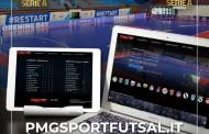Online la piattaforma on demand PMG Sport Futsal
