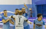 """Undicesima vittoria del Napoli. Super Hozjan, primo goal di Chilelli. Basile: """"Per spirito e compattezza la miglior partita"""""""