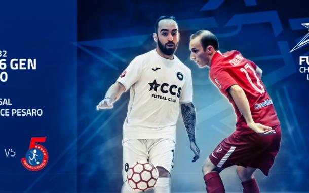 Champions League, Pesaro: sabato sfida a Ricardinho e Velasco in diretta streaming