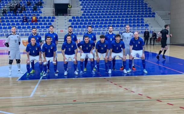 Qualificazione a Euro '22: buona la prima dell'Italfutsal di Bellarte, 0-3 al Montenegro
