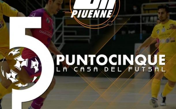 Alle 21.10 su Piuenne c'è Punto 5 la Casa del Futsal, replica ore 22.50