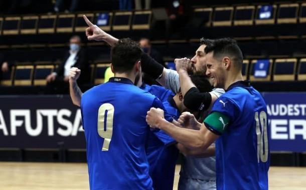 Brava Italfutsal, sei a Euro 2022: a Prato 4-1 al Belgio e qualificazione