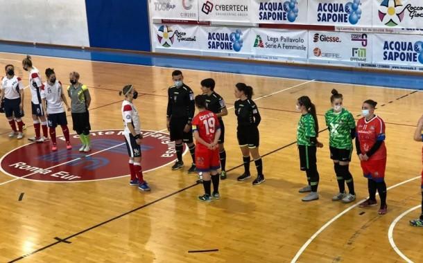 Serie A2 femminile, il Futsal Osilo vince nel recupero di Usini con lo Spartak
