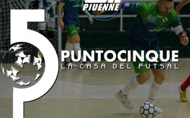 Punto 5 la Casa del Futsal, questa sera alle 21.10 su Piuenne