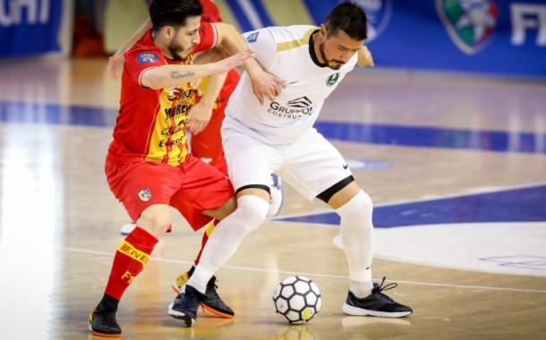 Final Eight B. Il Benevento si ferma, tre legni ed un super Barigelli: l'Eur Massimo vince 2-1 e vola in finale