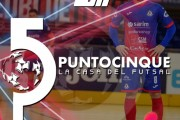 Punto 5 la Casa del Futsal, stasera alle 21.10 ed in replica alle 23.10 su Piuenne
