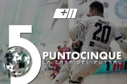 Punto 5 la Casa del Futsal, su Piuenne stasera alle 21.10 ed in replica alle 23.10