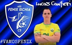 """La Fenix Ischia cala l'asso sul #futsalmercato, presentato Lucas Cantieri. Il brasiliano: """"Vogliamo scrivere la storia"""". Il presidente Agnese: """"Ci farà sognare"""""""