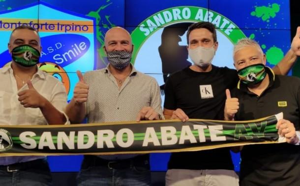 """Sandro Abate, ufficiale l'affiliazione con la scuola calcio Smile Monteforte Irpino. Capitan Abate: """"Essere sempre più radicati sul territorio il nostro obiettivo"""""""