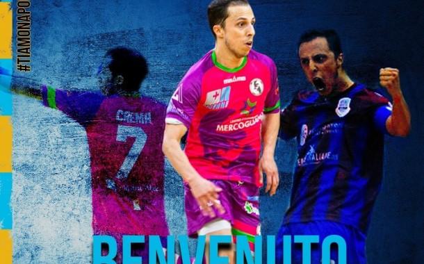 """Crema è un giocatore del Napoli Futsal: """"Sono qua per vincere"""". Il presidente Perugino: """"Ultimo grande tassello di un roster di primo livello"""""""