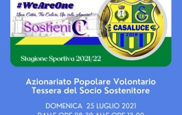 Casaluce in piazza Statuto per promuovere l'azionariato popolare volontario: domenica 25 luglio l'appuntamento