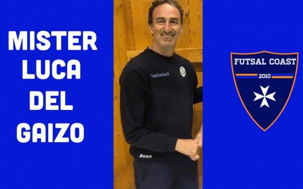 Futsal Coast, Luca Del Gaizo confermato alla guida tecnica