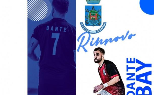 """Lo Junior Domitia rinnova la collaborazione con Dante Bay. Il giocatore: """"Impatto positivo in Italia, possiamo fare ancora meglio"""""""