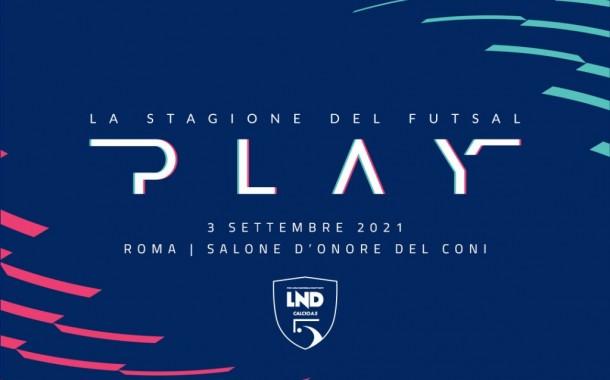 Play, la stagione del futsal: il 3 settembre l'evento al CONI che scopre i calendari 21-22