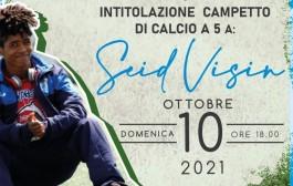 Atletico Vitalica, intitolazione del campetto a Seid il 10 ottobre