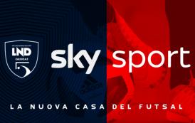 Il futsal su Sky Sport: si parte con Pesaro-Napoli. Il palinsesto gare di ottobre