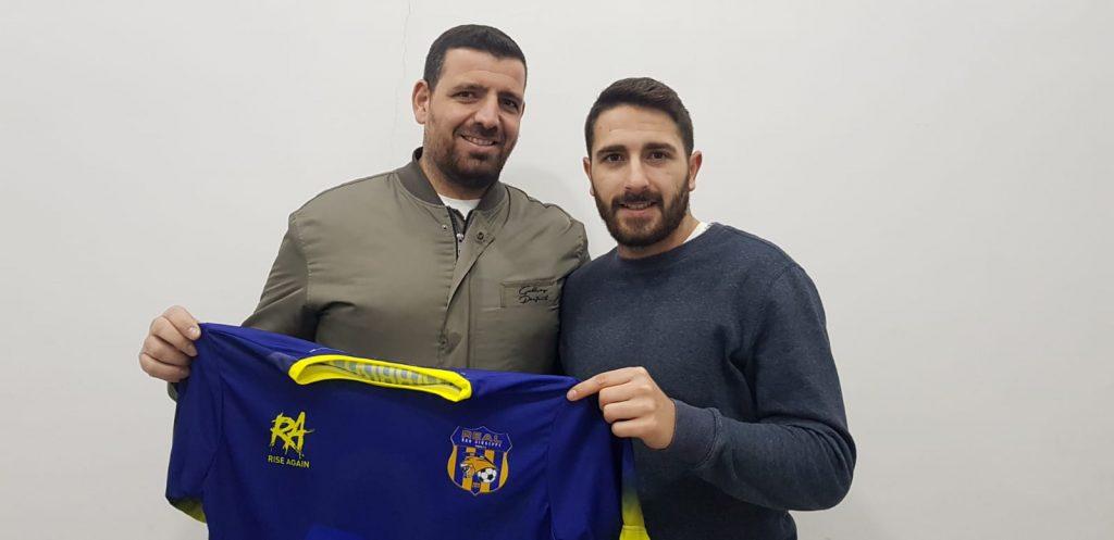 Germano Montefalcone, a destra nella foto, con Adriano Masi