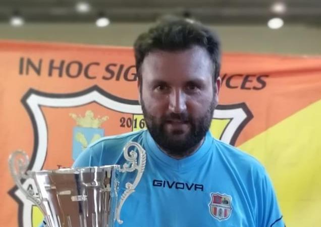 Salvatore Reccia, tecnico della Real Atellana Due Sicilie