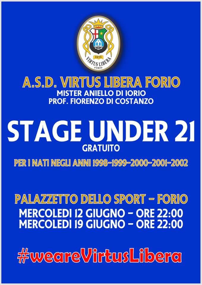 stage u21 locandina