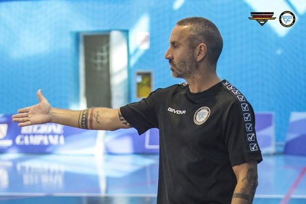 Fabio Oliva nell'ultima esperienza al Fuorigrotta