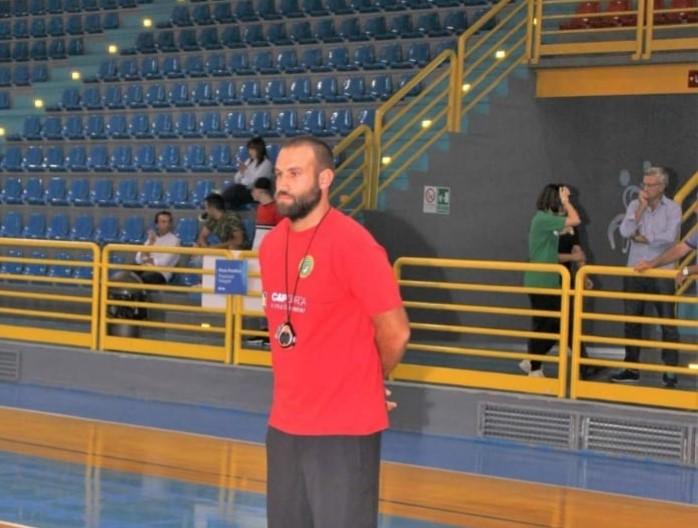 Luigi Battistone, tecnico della Futsal Irpinia