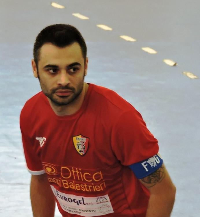 Nico Serino, capitano del Benevento5