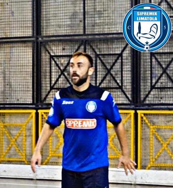 Antonio Di Luccio con la maglia della Sipremix Limatola