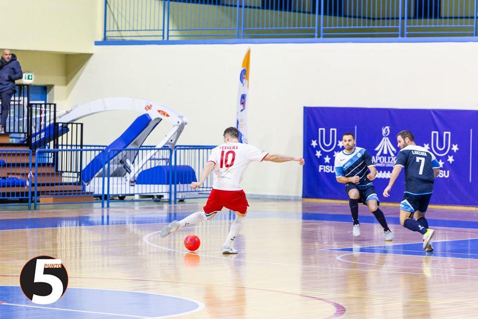 Matheus Ferreira in azione in finale di Coppa contro il Coast PH: Francesco Sollo