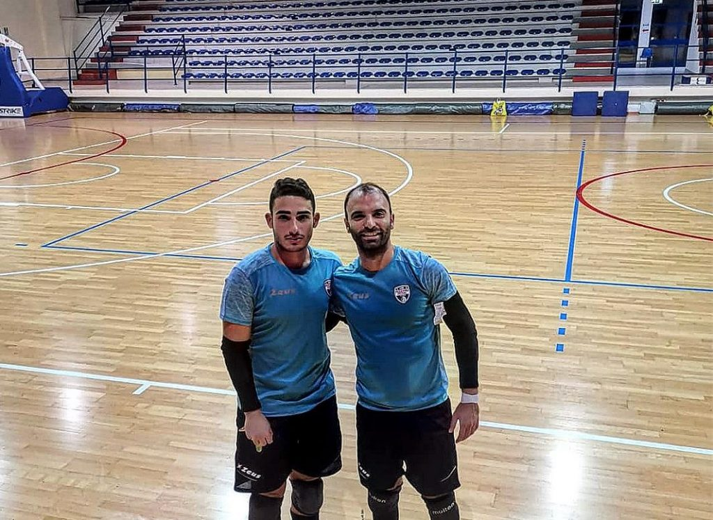 Angelo Di Pinto con Luciano Cardone