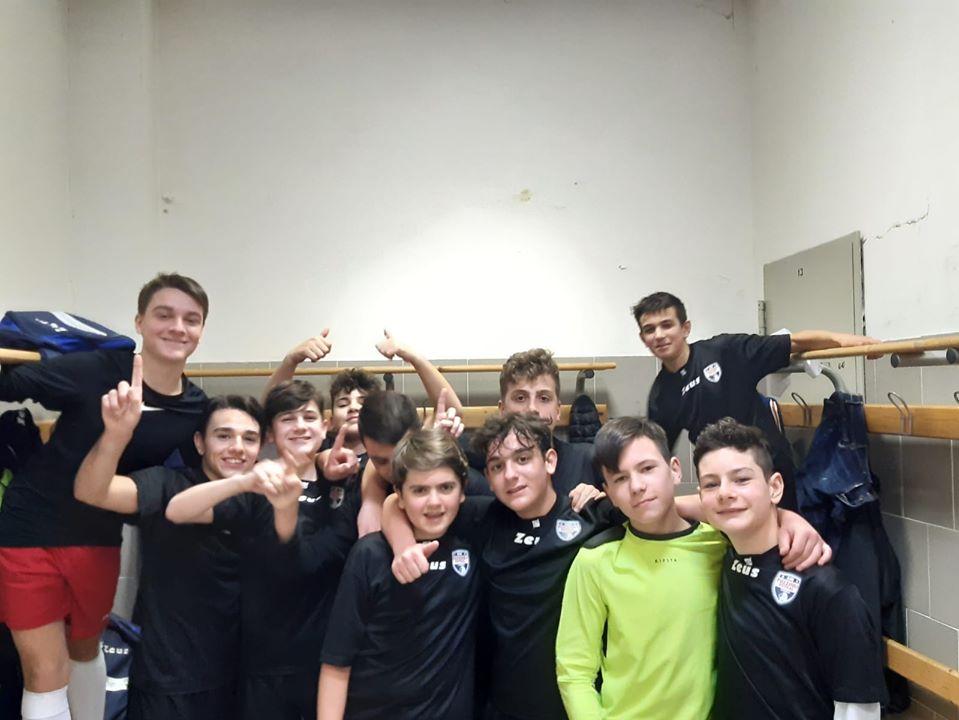 I ragazzi dell'U15 élite del Pozzuoli Flegrea
