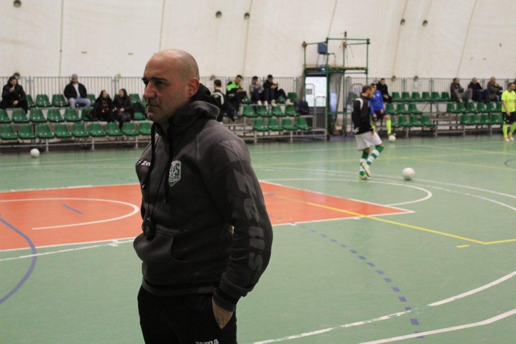 Genny Venezia, tecnico del Cus Avellino